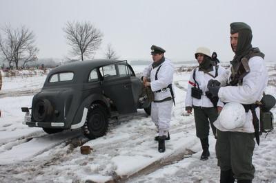 """Opel-Kadett (""""В молодости"""" Москвич)"""